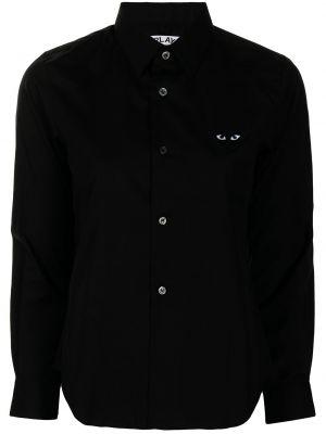 Klasyczna koszula - czarna Comme Des Garcons Play