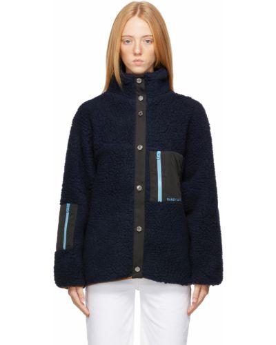 Синяя куртка сетчатая Sandy Liang