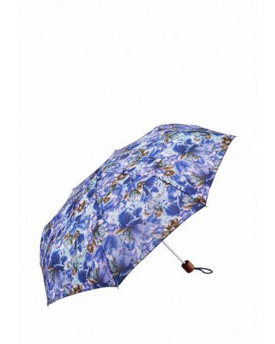 Голубой зонт складной Fulton