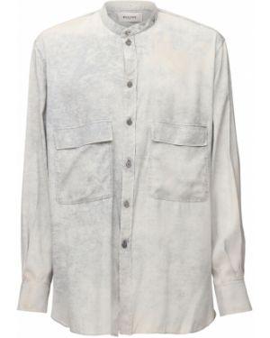 Koszula z jedwabiu Rochas