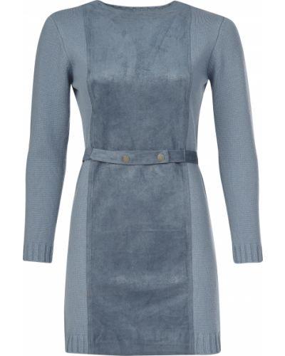 Платье из полиэстера - голубое Ca' Vagan