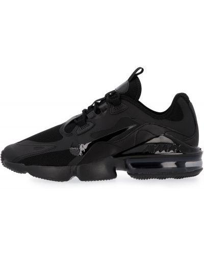 Кожаные черные кроссовки Nike