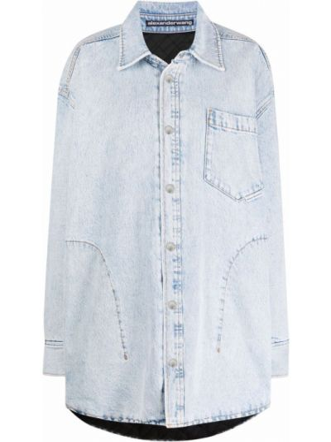 Koszula jeansowa - niebieska Alexander Wang