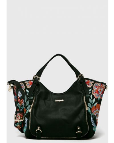 Кожаный сумка с вышивкой с ручками Desigual