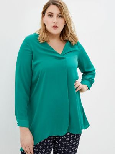 Бирюзовая блузка Evans