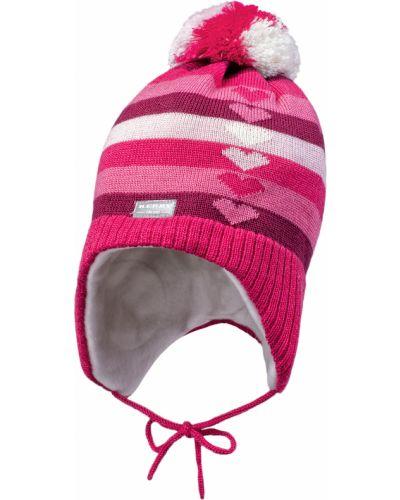 Зимняя шапка малиновый Kerry