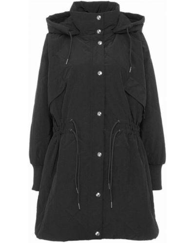 Czarny płaszcz Oof Wear