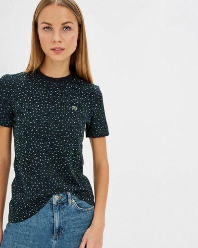 Зеленая футболка 2019 Lacoste