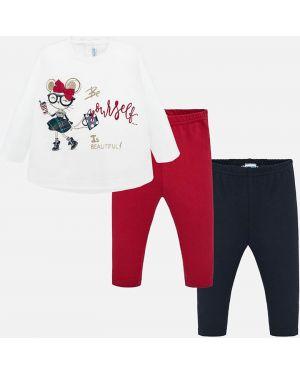 Красный спортивный костюм Mayoral