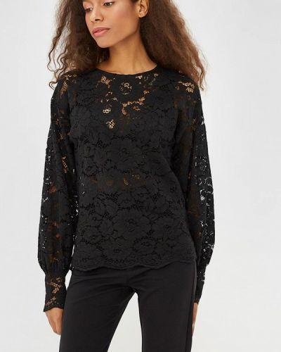 Черная блузка кружевная Sweewe