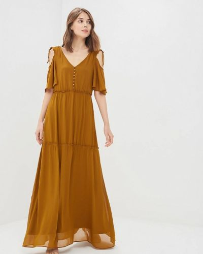 Коричневое платье Tom Tailor