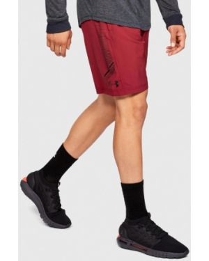 Красные спортивные шорты Under Armour