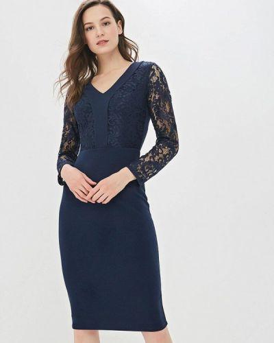 Вечернее платье весеннее синее Dorothy Perkins