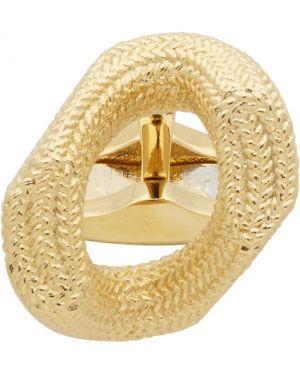 Spinka do mankietów ze złota złoto Burberry