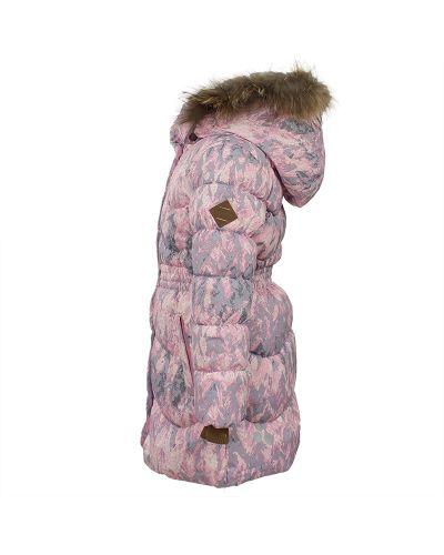 Пальто розовый зимнее Huppa