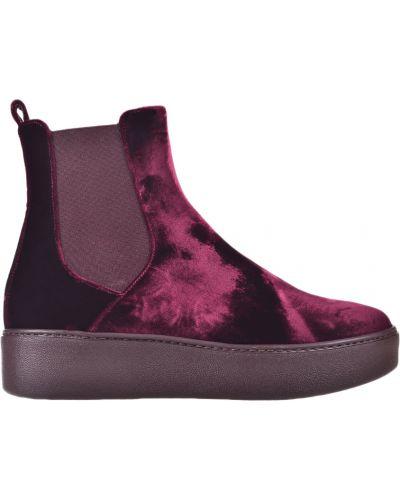 Кожаные ботинки осенние на платформе Nando Muzi