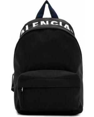 Рюкзак белый текстильный Balenciaga