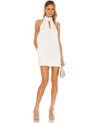 Шелковое платье - белое Amanda Uprichard