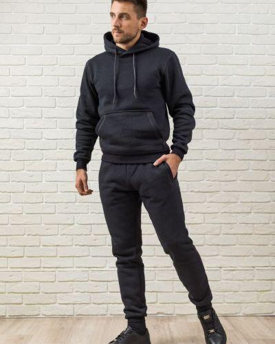 Теплый спортивный костюм - черный Kml