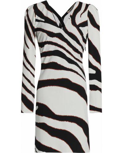 Трикотажное платье мини - белое Roberto Cavalli
