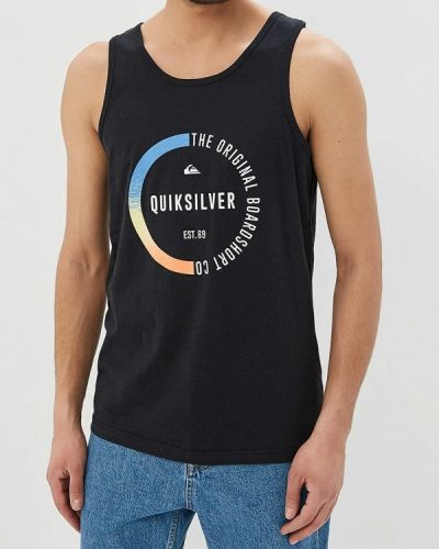 Черная майка Quiksilver