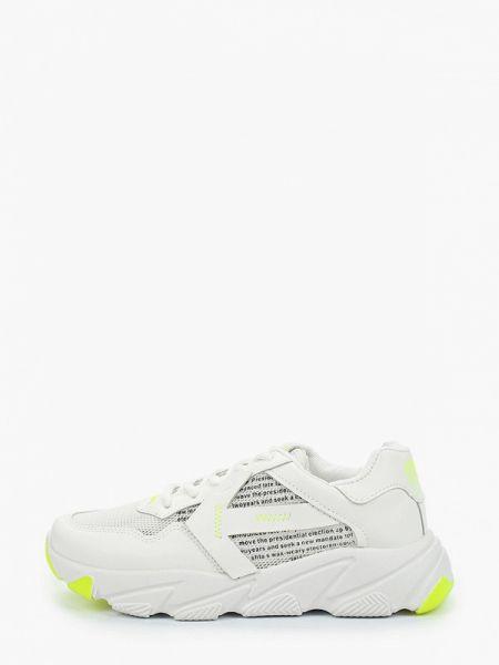 Белые текстильные кроссовки Crosby