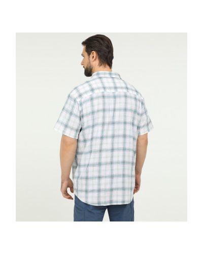 Теплая белая рубашка с коротким рукавом с короткими рукавами Columbia