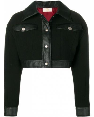 Черная короткая куртка Sara Battaglia