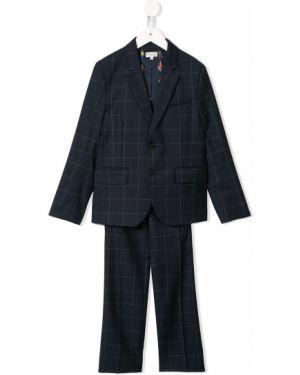 Garnitur niebieski kostium Paul Smith Junior