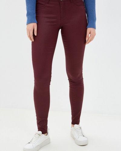 Красные повседневные брюки Naf Naf