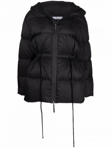 Куртка с капюшоном - черная Acne Studios