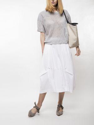 Biała spódnica Deni Cler Milano