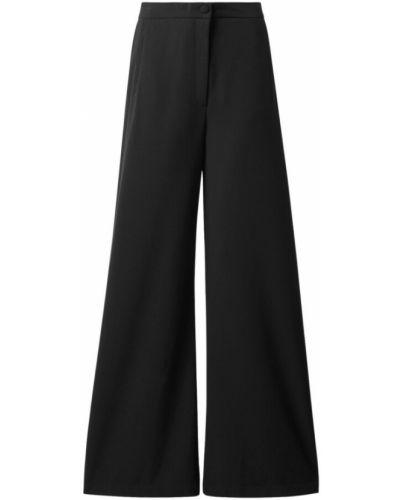 Czarne spodnie Rodebjer
