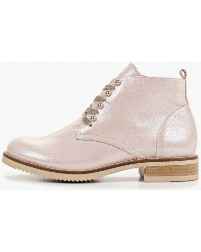 Кожаные ботинки кожаные на каблуке Dolce Vita
