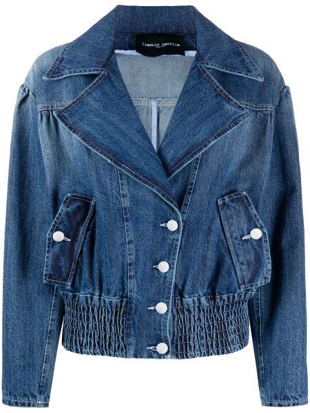 Джинсовая куртка на пуговицах с карманами Frankie Morello