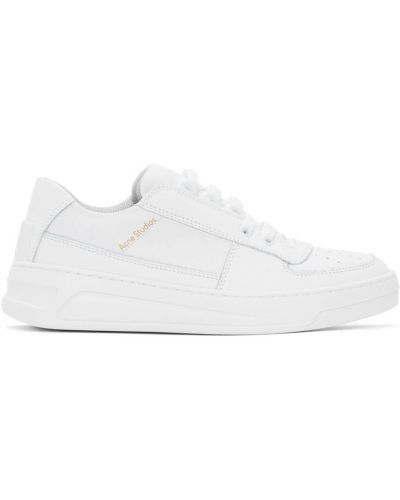 Кроссовки на каблуке - белые Acne Studios