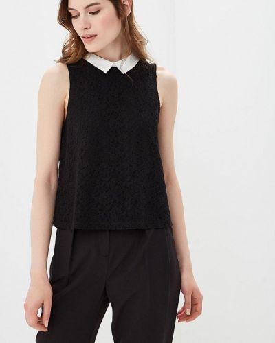 Черная блузка кружевная Jennyfer