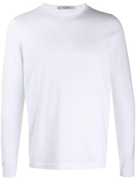 Белый свитер La Fileria For D'aniello