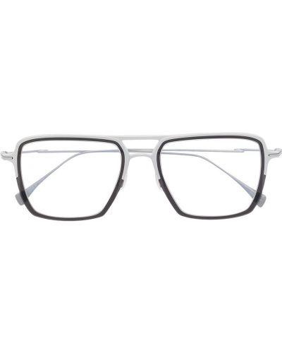 Okulary srebrne Yohji Yamamoto