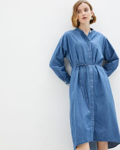 Синее джинсовое платье Gap