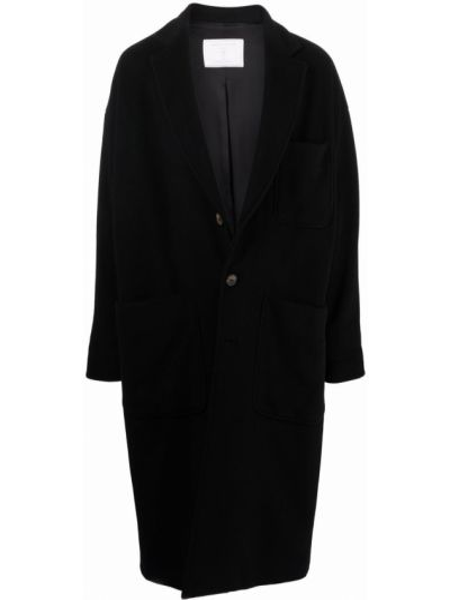 Пальто оверсайз - черное SociÉtÉ Anonyme