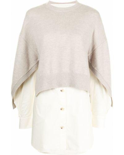 Koszula wełniana - beżowa Enfold