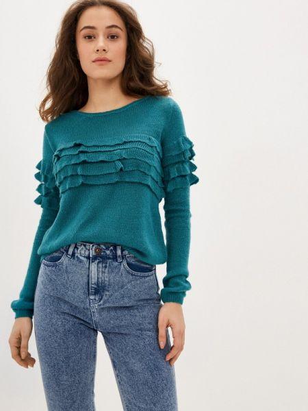 Клубный бирюзовый свитер Concept Club