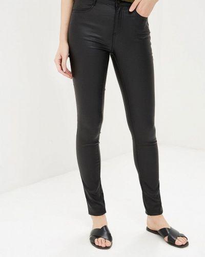 Черные брюки повседневные Vila