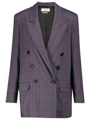 Мягкий льняной малиновый пиджак Isabel Marant, ã‰toile