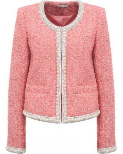 Розовый пиджак с подкладкой Alice + Olivia