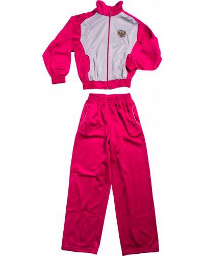Спортивный костюм серый красный Lacywear