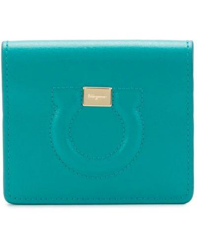 Кожаный кошелек мини с логотипом Salvatore Ferragamo
