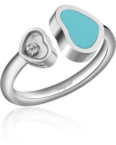 Niebieski pierścionek Chopard