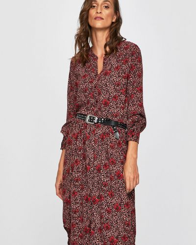 Платье миди на пуговицах расклешенное Jacqueline De Yong